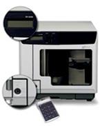 Der Epson PP-100N Security - Vertrauliche Daten auf CD/DVD-Medien brennen. Bedruckt und kopiert vollautomatisch bis 100 CD oder DVD in einem Arbeitsgang und das besonders sparsam, da er über sechs separate Tintentanks mit hoher Kapazität verfügt