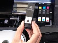 Separate Tintenpatronen für geringere Stückkosten