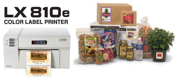 LX810 Farb-Labeldrucker macht Ihre Produkte mit Farbe attraktiver